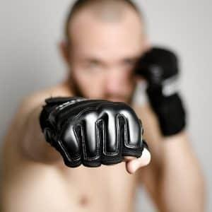 Gants de boxe legers pour entrainement sur sac